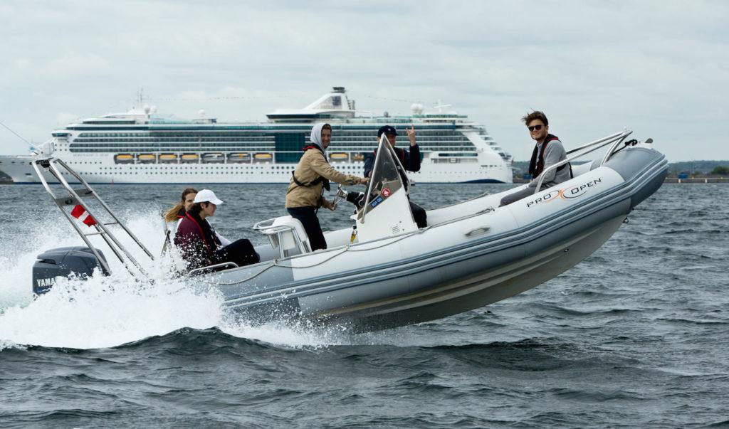 Speedbådskursus - Sejlads